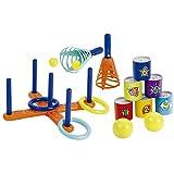 Jouets Ecoiffier -192 - Pack 3 sports – Jeux de plein air pour enfants – Dès 3 ans – Fabriqué en France