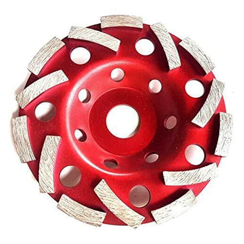 125 Mm Diamante Discos Double Turbo Abrasives Concreto Herramienta Grinder Rueda Rueda Corte Rueda Rueda Taza (Color : A)
