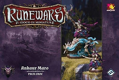 Asmodee Italia - Runewars El Juego de miniaturas expansión Ankaur Maro, Color,...