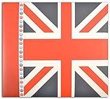 Toga AL80álbum de Recortes Londres cartón Rojo/Azul 20x 20x 2,5cm