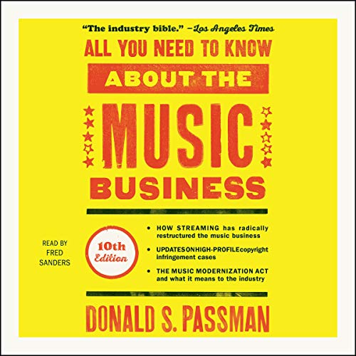 Page de couverture de All You Need to Know About the Music Business