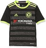 adidas Kinder FC Chelsea Trikot, Black/Solar Yellow/Granite, 140