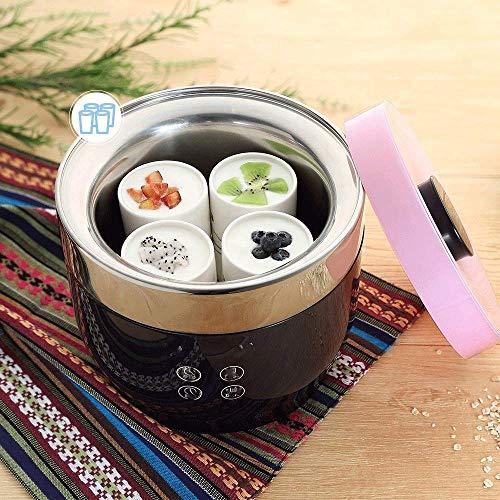 NMDD Griechische Joghurt-Maschine mit Anzeige - Kostenlose Lagerbehälter mit Deckel