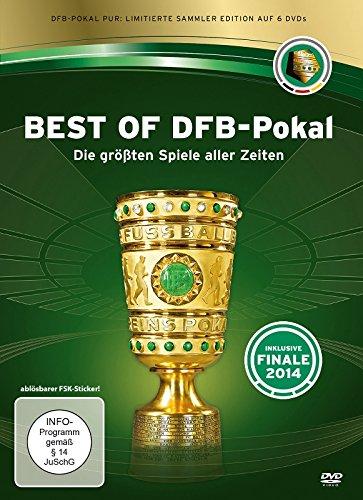 Best of DFB-Pokal - Die größten Spiele aller Zeiten [6 DVDs] Limitierte Sammleredition