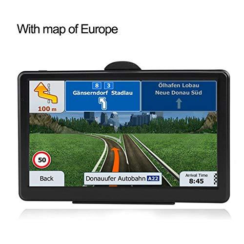 Navegador GPS para automóvil, Pantalla táctil de 7