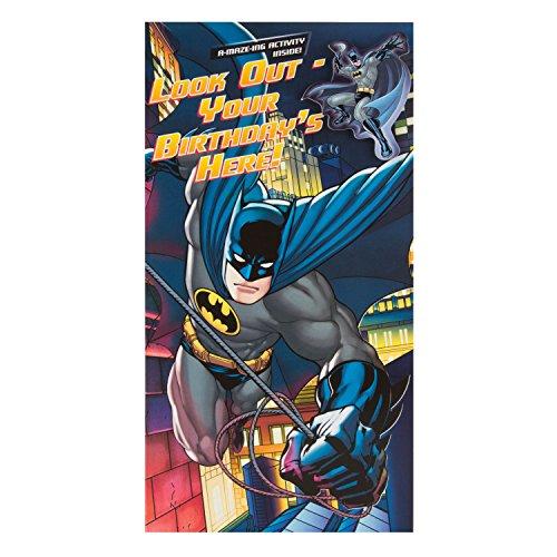 DC Comics Hallmark Geburtstagskarte