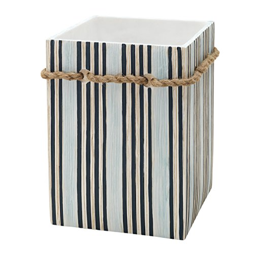 Beach Themed Bathroom Wastebasket