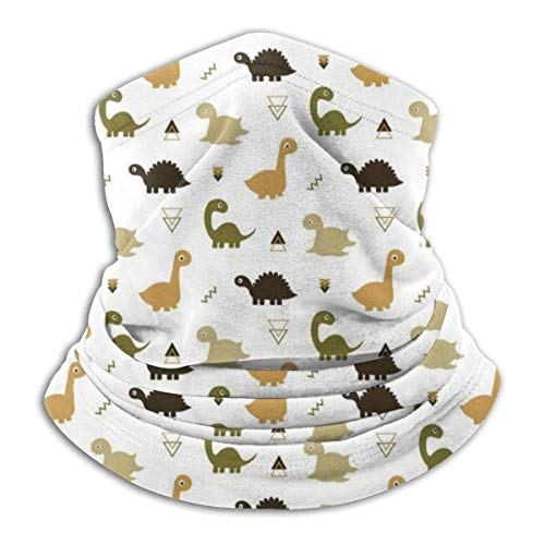 Neck Warmer Cute T-rex Dinosaurs Neck Warmer Windproof Balaclava Fleece Hood Free UV Winter Hats
