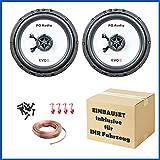 PG Audio Kit de instalación de altavoz para Alfa Romeo 145, 146, 164 Super, 166, puerta delantera