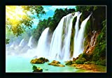 Size- UV Coated, High Defination Image,(Dimension; 14x20inch ) Package contains : One UV Textured Print Framed Painting without glass. Light weight quality with multi-effects,Easy to clean with dry Clothes. Usage : It can be used for Living room, Off...