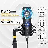 Immagine 1 kit microfono usb 192khz 24bit