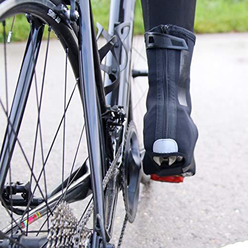 BBB Cycling Fahrrad Überschuhe Winter Herren und Damen | Kälteschutz Thermo Uberschuhe Rennrad MTB Multistretch-Neopren | HeavyDuty OSS BWS-02B - 4