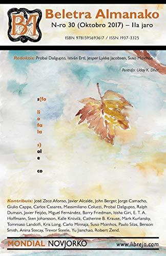 Beletra Almanako 30 (BA30 - Literaturo en Esperanto) (Esperanto Edition) (Paperback)