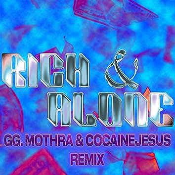 Rich & Alone Remix (feat. gg. mothra & Cocainejesus) (Remix)