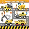 iHaHa 236PCS Construction Race Tracks for Kids Boys Toys, 6PCS Construction Car and Flexible Track Playset Create A Engineering Road Toys for 3 4 5 6 Year Old Boys Girls Best Gift #4