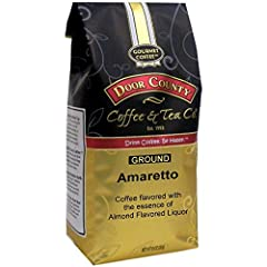 Coffee flavored with the essence of Almond Flavored Liquor. WEEKS SUPPLY OF COFFEE: Includes one 10 oz bag of coffee to make about seven 10 to 12 cup pots of coffee in a drip style, regular coffee brewer. TOP 2% OF ALL BEANS: We use only Specialty Cl...