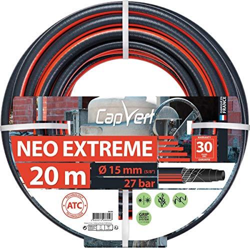 Cap Vert Tuyau d'arrosage Néo Extrême Diamètre 19 mm - Longueur 20 m