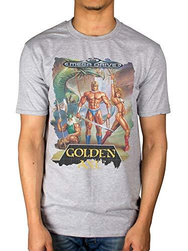 Sega Golden Axe Mega Drive T-Shirt Gamer Beat Em All Merch