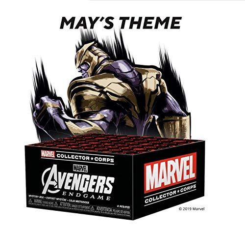 Funko Marvel Collector Corps Subscription Box, Avengers Endgame Theme, May 2019, XL Shirt