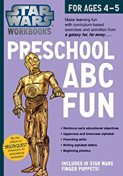 Star Wars Workbook  Preschool ABC Fun  Star Wars Workbooks