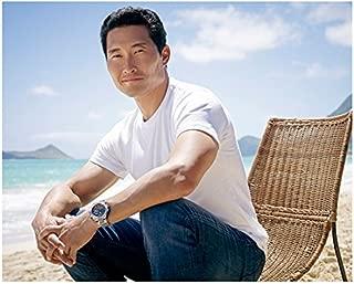 Hawaii Five-O Daniel Dae Kim as Chin Ho Kelly Sitting Casually Looking Handsome 8 x 10 Inch Photo