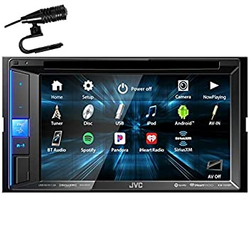JVC KW-V25BT 6.2  WVGA Clear Resistive Touch Monitor/Bluetooth / 13-Band EQ