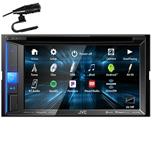 "JVC KW-V25BT 6.2"" WVGA Clear Resistive Touch Monitor/Bluetooth / 13-Band EQ"