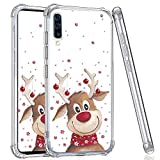 YEPO Samsung Galaxy A50 Case,Christmas Pattern Case for