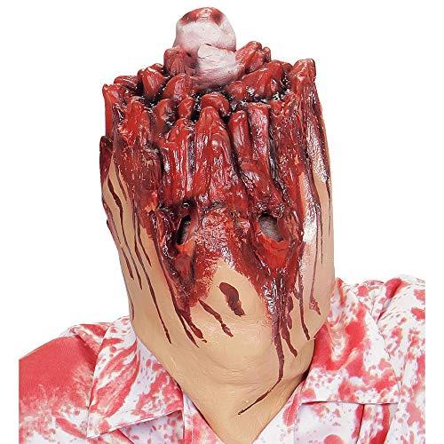 Widmann Generique - Masque tête arrachée Adulte Halloween