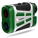 Anyork Hunting Rangefinder ,Golf Range Finder with Slope On/Off, Red and Black Optics Laser Rangefinder, 6X Magnification Clear View Hunting Range Finder, Target-Lock Vibration - Clip Design