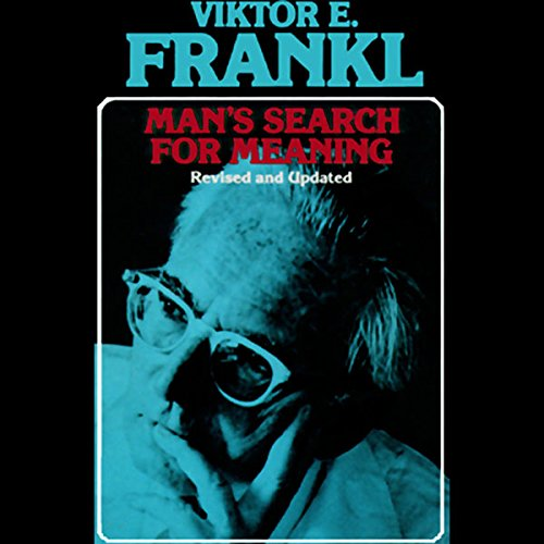 Man's Search for Meaning audiobook cover art