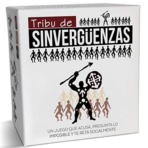 Tribu de Sinvergüenzas - El Mejor Juego de Mesa para Fiestas y Risas con amig@s - Made In Spain