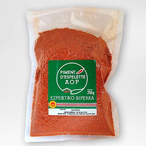 250 g Piment d´Espelette AOP original im Beutel- Chili mit fruchtiger & dezenter Schärfe