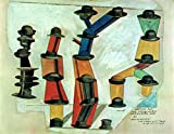 P5990 A4 Poster Max Ernst It s The Hat That Makes A Man It