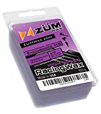 ZUMWax Endurance HIGH Speed Racing Glide Wax Ski/Snowboard/Nordic/Cross-Country - 100 Gram - Extra Durable and Super-Fast!!! Environmentally Friendly & Non-Toxic! Fully TSCA Compliant!!!