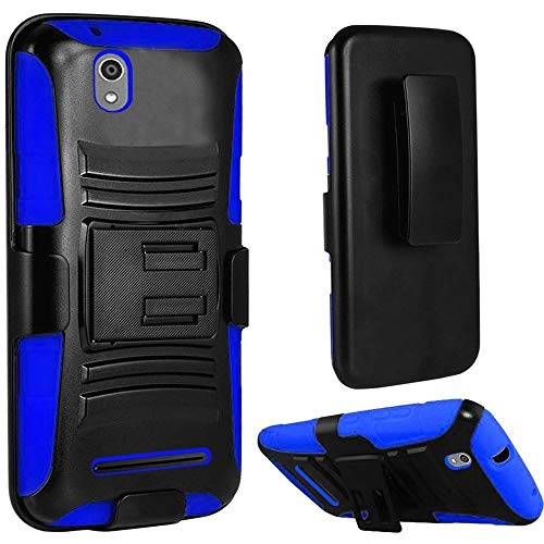 New Holster + Kickstand Hybrid Scratch Resistance Case Phone Cover...