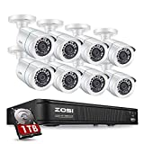 Best Surveillance Systems - ZOSI 1080P H.265+ Home Security Camera System,5MP Lite Review