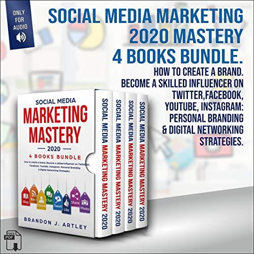 Social Media Marketing 2020 Mastery 4 Books Bundle  By  cover art