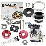 QAZAKY 15mm Carburetor Gasket Air Filter...
