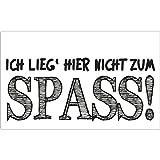 Rayher 34272000 Label ... nicht zum Spass!, 40x65mm, SB-Btl 1Stück
