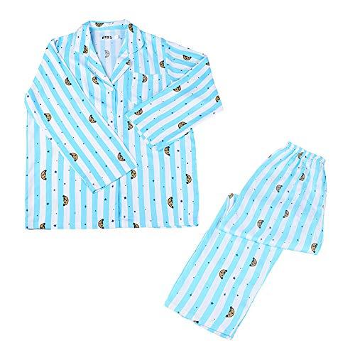 MIFIN Schlafoveralls JUNG JOOK Jimin V Harajuku Stil Pyjama Nachtwäsche Nachthemd (Shooky, S)
