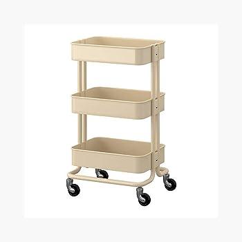 Amazon Com Ikea 202 718 92 Raskog Home Kitchen Storage Utility Cart Beige Size 13 75 X 17 75 X 30 75 Kitchen Islands Carts,700 Square Foot House Floor Plans