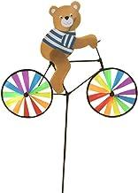 Fansport Wind Spinner Garden Decor Pinwheel Animal De Dibujos Animados Colorido Paseo En Bicicleta Molino De Viento para Jardín