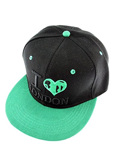 Zac's Alter Ego® Casquette de Baseball - Homme Black & Green