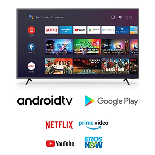Philips 126 cm (50 inches) 4K Ultra HD LED Android Smart TV 50PUT8215/94 (Black) (2021 Model) | With Voice Assistant 3