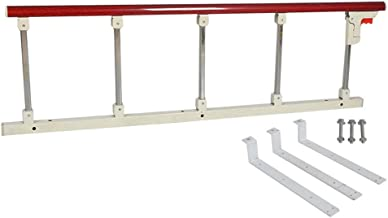 Bed Assist Bar for Adult & Elderly, Foldable Bed Rail for Assistance Getting in or Out of Bed at Home & Hospital, 120x40cm