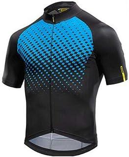 Jersey Radfahren Kleidung Racing Sport Bike Jersey Tops Radfahren Tragen Kurze Armel Maillot ropa Ciclismo LBYGDQ (Color : Ivory, Size : S)