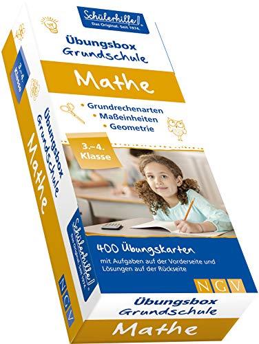 Mathe Übungsbox Grundschule, 3. + 4. Klasse: Gute Noten mit der Schülerhilfe