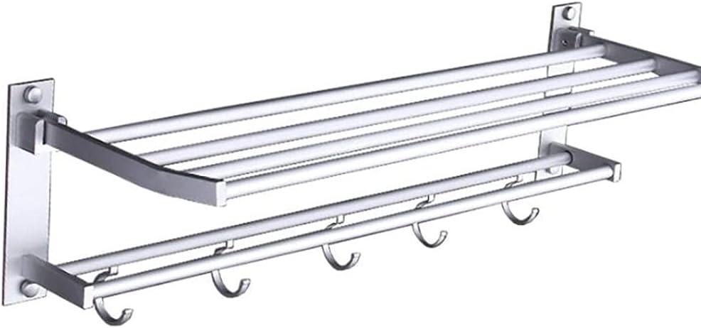 Stainless Rapid rise Sales Steel Storage Rack Shelf Rack-Mounted Towel Foldable S