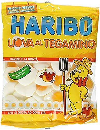 Haribo Uova Al Tegamino Caramelle Morbide E Gommose Al Gusto Di Frutta - 1500 ml